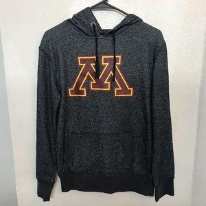 Tops - University of Minnesota Black Glitter Hoodie